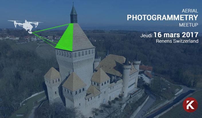 Workshop photogrammétrie aérienne du château de Vufflens