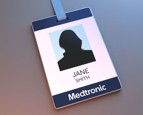 7Media production automatisee badge securite Medtronic